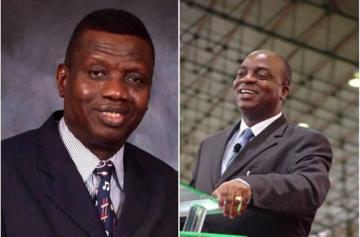 Pastor Enoch Adeboye and Bishop David Oyedepo