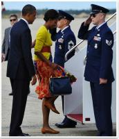Michelle Obama Spotting A Duro Olowu Outfit