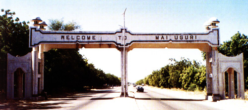 Maiduguri City Gate