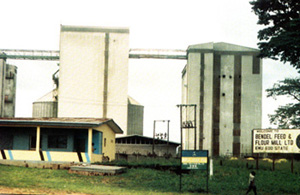 Bendel feed & Flour Mill Building