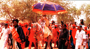Emir of Kastina during Sallah Durbarout