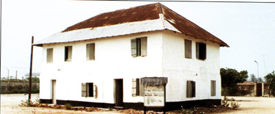First story building in Nigeria, Badagry
