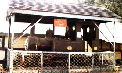 First Locomotive Steam Engine