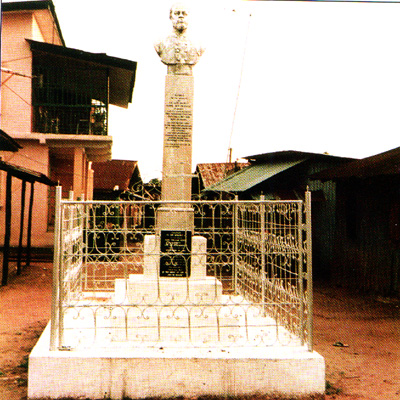 A Monument of King Dappa Pepple of Bonny