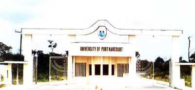University of Port Harcourt ( Main Entrance )