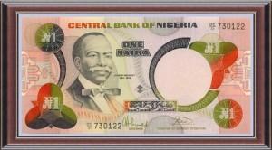 1 naira note