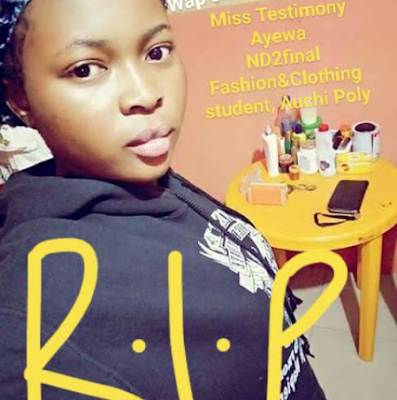 Beautiful Final Year Student Dies In Terrible Accident
