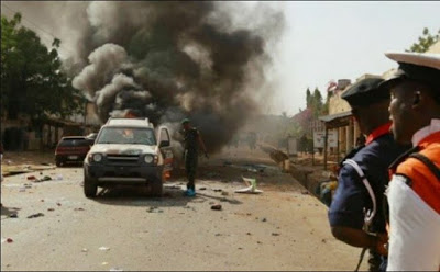 BREAKING: Boko Haram On Rampage, Bombs Borno & Yobe