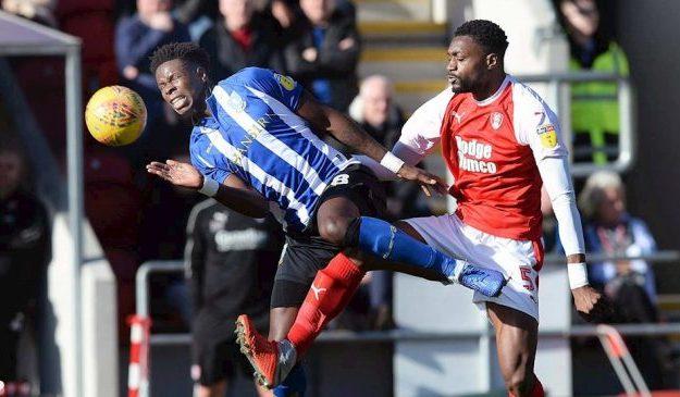 Championship: Iorfa Scores On Wednesday Debut Vs Ajayi's Rotherham; Etebo Stars In Stoke's Away Draw