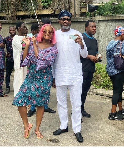 #Nigeria Decides, Femi Otedola, DJ Cuppy,