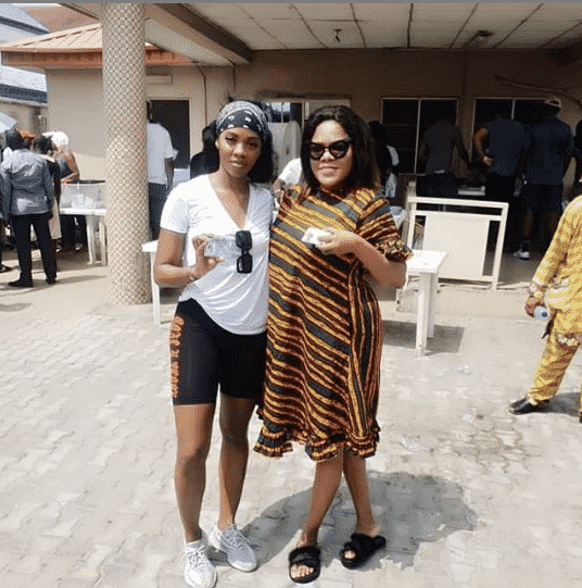 #Nigeria Decides, Tiwa Savage, Toyin Abraham