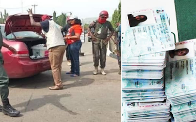 Drama As Politician Is Nabbed With Hundreds Of PVCs