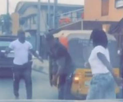 Good Man Steps Down From His Car To Defend Woman Being Assaulted By Keke Driver
