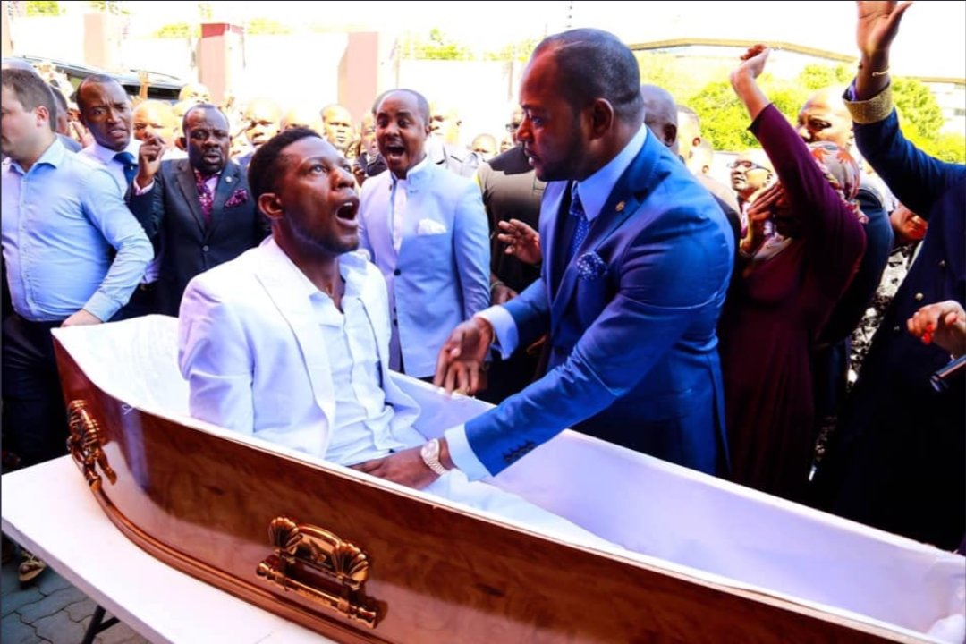 South African Pastor Alph Lukau sued for resurrection stunt 1