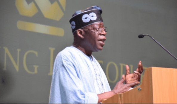 Trending audio forces Tinubu to react