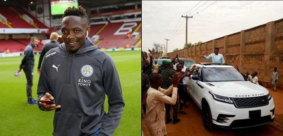 Ahmed Musa reportedly gifts N250,000 to street cleaner in Asaba