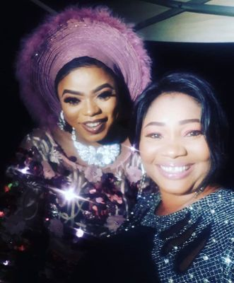 Bobrisky Hangs Out With Actress, Jaye Kuti As They Party (PHOTO)