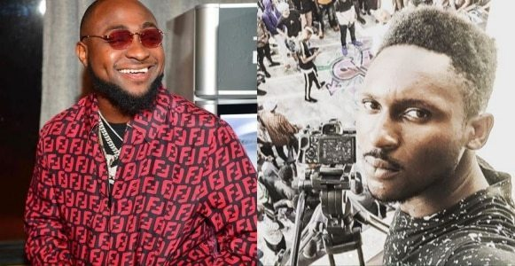 Davido exposes music video director who called him talentless