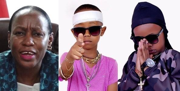 Image result for 'Go back to school or get arrested' — Minister warns Ugandan 7-year-old rapper