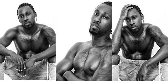 Orezi Boasts As He Releases Shirtless Photos Of Himself