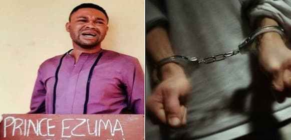 'Gay' pastor, Chizemdere Ezuma arrested for infecting underage boys with HIV