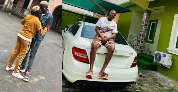 Rapper, Zlatan Ibile buys his girlfriend a Mercedes Benz as birthday gift