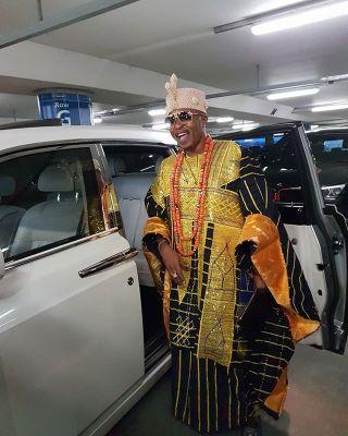 """""""The White Man Is My Umbrella Man"""" - Oluwo of Iwo Land, Rasheed Akanbi In London"""