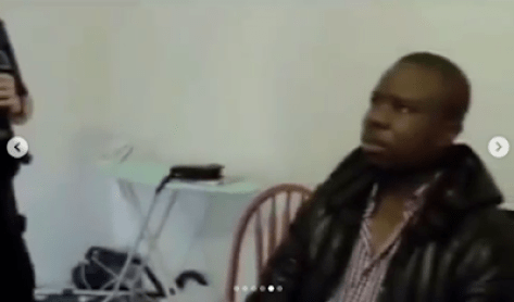 VIDEO : UK Border Agency Burst Nigerian Man With Multiple Passports, Forgets His Date Of Birth