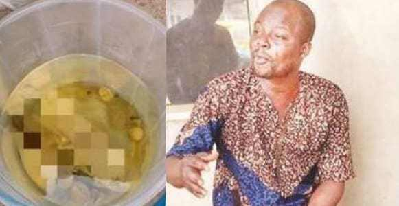 Why we demand panties - Herbalist arrested for money rituals