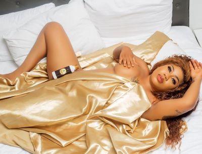 """I Am A Prayer Warrior"" - Toyin Lawani Reveals Amidst Sharing Half Nude Photos"