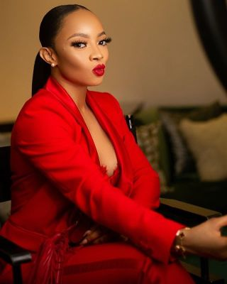 Toke Makinwa Pranks Her Driver After She Caught Him Sleeping On Duty