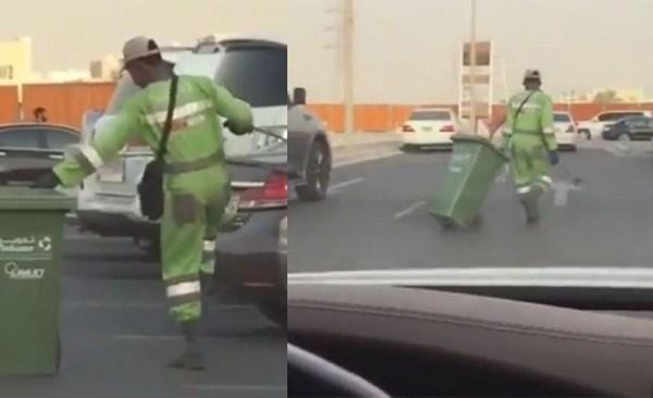 Dancing Nigerian cleaner steals hearts in Abu Dhabi (video)