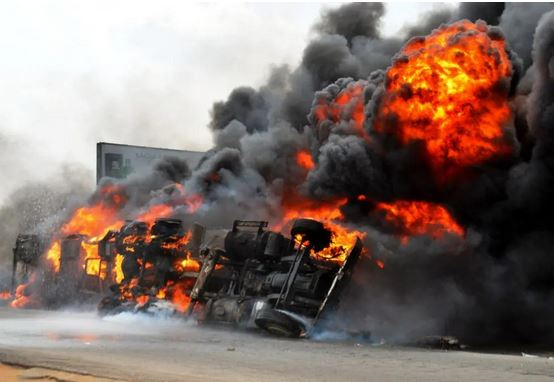 Breaking News: Another Fuel Tanker Explodes In Onitsha