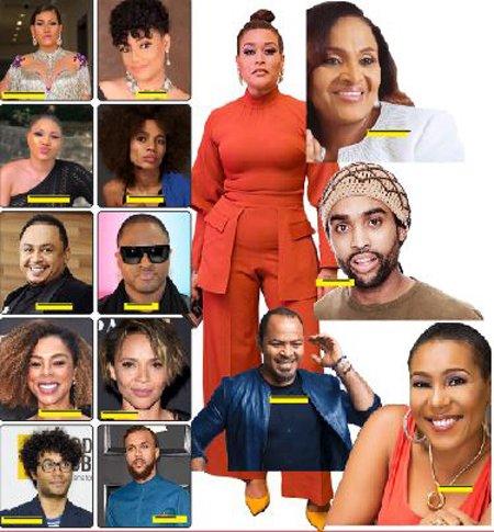 mixed-raced Nigerian celebrities