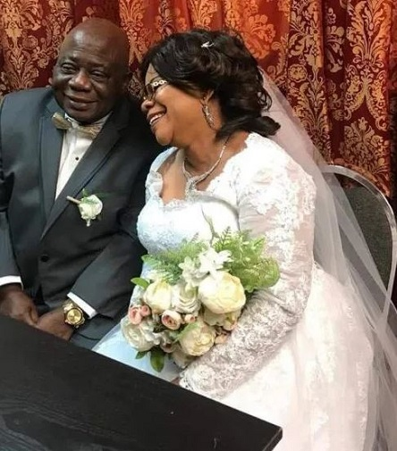 Grace Titi Laoye-Tomori and Prince Michael Tunde Ponle