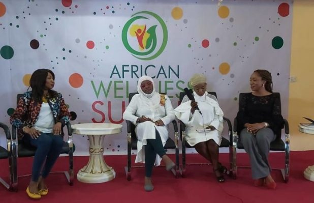 Another set of panelists at the African Wellness Summit