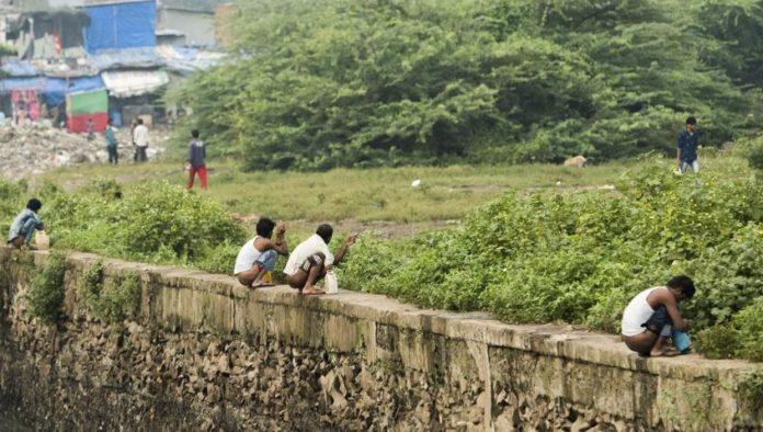 File photo: Open defecation