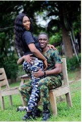 military man, romance