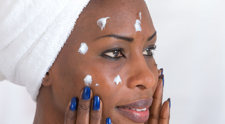 Image result for picture of a black girl and skin care regime for winter