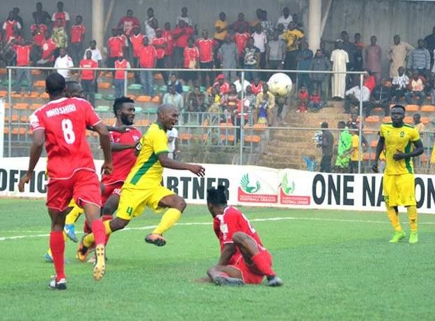 NPFL: Lobi Pip Nasarawa Utd 2-1; Regain Top Spot, MFM Hold Plateau Utd