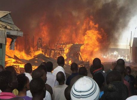 death by fire in Kano