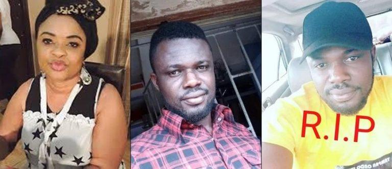 Toyosi Adesanya was in the car when Juwon was killed