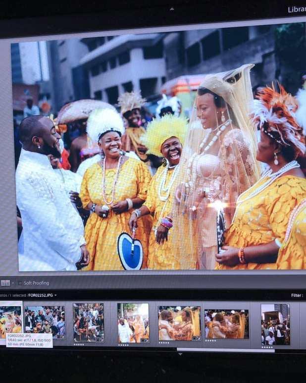 davido traditional wedding