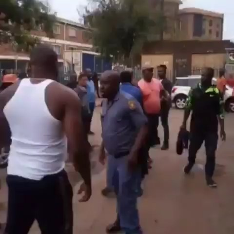 """Nigerian man allegedly kills another Nigerian man, who is his relative, in a brawl in South Africa over a failed business transaction. . . A statement released by the President, Nigeria Citizens Association South Africa, NICASA, Ben Okoli, said the incident happened in Kempton Park on Monday night February 10th, at 7:30 pm. . . The statement reads in part . . """"NICASA has received information from our ward leader in Kempton Park, where two Nigerians engaged in a fight that led to the death of one of them. The two Nigerians are related, from Orlu Senatorial zone of Imo State. . . Our preliminary investigation revealed that the two Nigerians, one known as Batista and the other as Ide, got into fisticuffs apparently over disagreements on some money to be paid to some creditor. Batista, who was the senior of the two relatives hit the younger Ide with a brick on his head and pushed him to the ground. Ide fell to the ground hitting his medulla on the ground. He was rushed to Arwyp Hospital, Kempton Park, South Africa, where he died shortly after he was admitted"""". . . @lindaikejiblogofficial"""