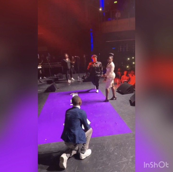 Man proposes to his girlfriend at Teni's show in London