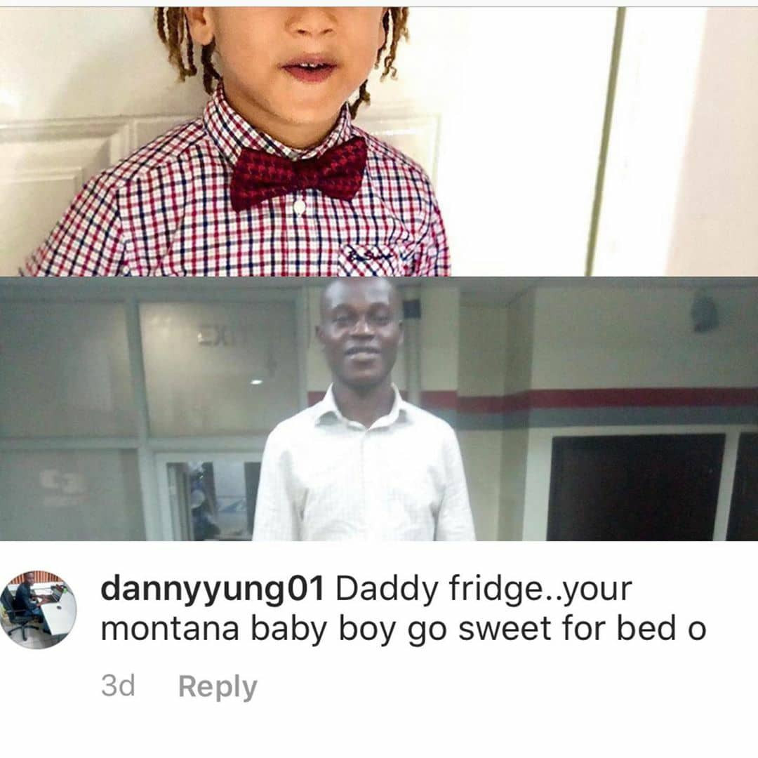 Freeze calls out man who sexualized his son on Instagram