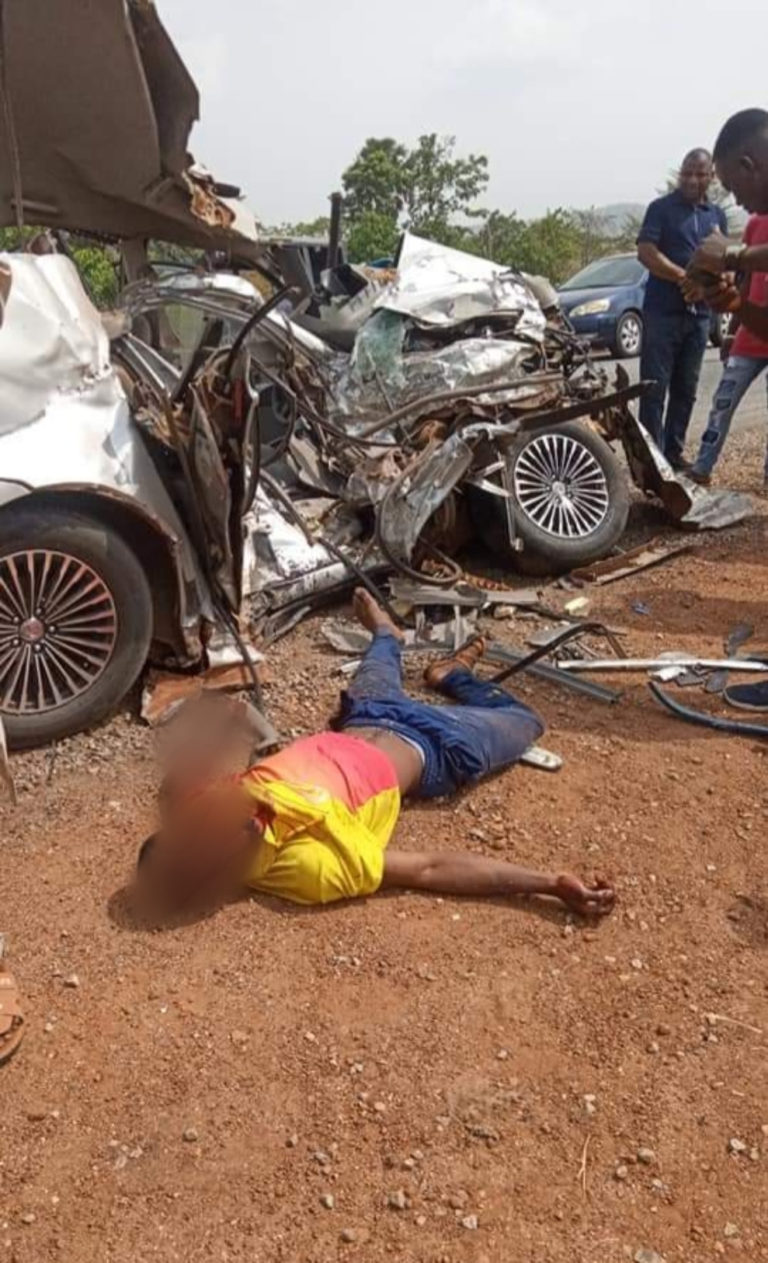 Scene of the fatal accident