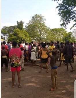 Ebonyi woman stripped after being accused of killing her husband