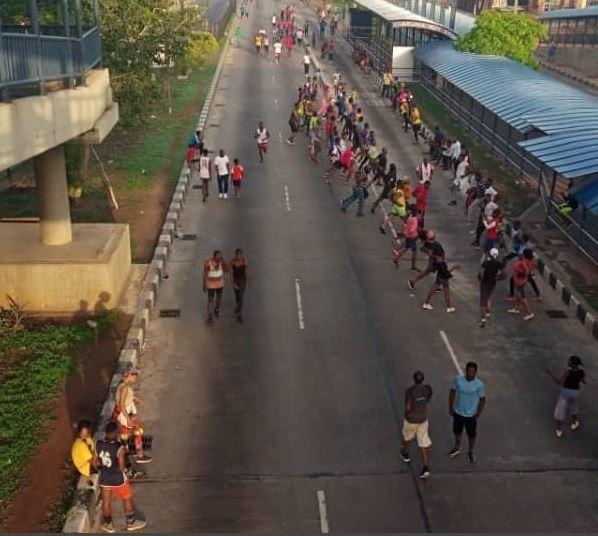 Lagos joggers