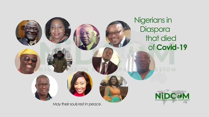 Nigerians who died of Coronavirus in US and UK